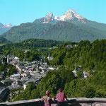 Berchtesgaden mit Watzmann im Sommer