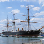 Portsmouth Sea Harbor Museum, HMS Worrier