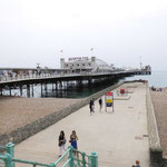 Völlig Überlaufen und doch schon ganz runter gekommen... Brighton