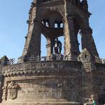 Kaiser Wilhelm Denkmal in Porta Westfalica...