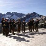 Foto: Paul Ramakers                                    mit Musik auf der Kanzelwand