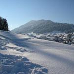 Auf dem Winterwanderweg