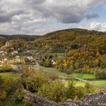 Ausblick von der Burg Neideck