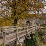 Brücke auf der Burg Neideck