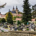 Blick auf die Kirche von Gößweinstein