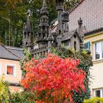 Wanderung rund um Gößweinstein - Burg im Vorgarten