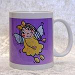 Kaffe-Tasse Kleiner Schutzengel Lins