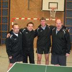 Senioren Kreisliga 2013/2014 v.l.n.r.: Daniel Meier, Gundolf Freitag, Mario Wagner u. Jens Fedderke