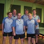 1. Herren Kreisliga 2013/2014 v.l.n.r.: Gundolf Freitag, Jens Fedderke, Daniel Meier, Mario Wagner, Timo Rüstig u. Tobias Quindel