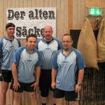 Seniorenmannschaftsmeister Senioren Kreisliga 2014 v.l.n.r.: Mario Wagner, Gundolf Freitag, Jens Fedderke u. Daniel Meier