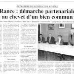 Création du contrat rivière