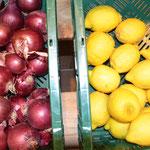 Zitronen, Zwiebeln