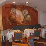 Морской стиль в ресторанном буфет