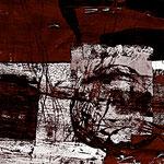Abstraktion, erdfarben, dynamisch, 100/100