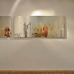 Moderne Kunst auf edlem Bildträger, Wunschmaß