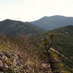 金峰から(東方向)朝日岳