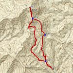GPSトラックログ(時計回りのコース)