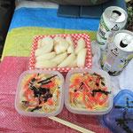 昨日お盆の為作った五目ちらし寿司
