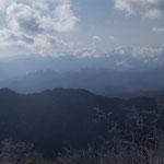 ギザギザの妙義山
