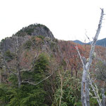 奥の五郎山へは南側に狭い道が・・