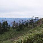 特徴的な苗場山