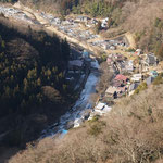 滝本の町俯瞰