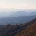 妙義山方向