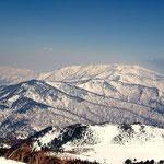 会津駒ケ岳方向