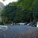 道路を下っていくと大円地駐車場(新しいトイレ棟があった)