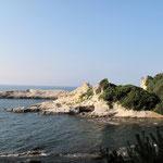 沖泊付近の海岸