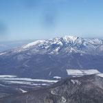 北側に四阿山・根子岳