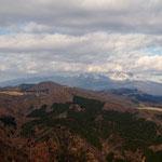 神津牧場と浅間山