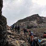 茶臼岳へ向う