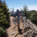 大山山頂(2225m)