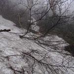 残雪トラバース