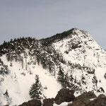 黒斑山(トーミの頭から)