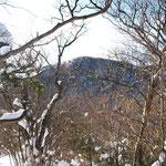 南側に神山