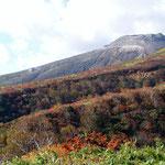 茶臼岳方面