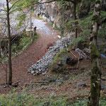 川の音が聞こえてきたら登山口まであと少し