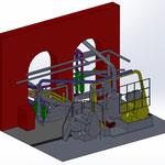parallaxe - papeterie - modélisation 3D