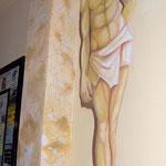 Palestra - acrilico su muro