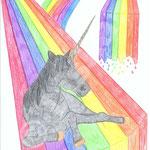 Regenbogen-Pferd- Schuljahr 2011-12