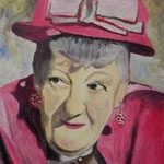 Die unvergessene Miss Marple - (Gemälde von: Wiebe Berëza)