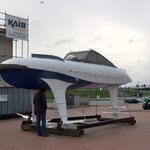 Tragflügelboot WSS 10, ein Versuchsfahrzeug