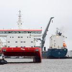 """Lotsenschiff """"WESER"""", Swath Schiff von A&R"""