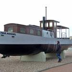 """die """"PAUL KOSSEL"""", ein Beton-Rumpfschiff"""