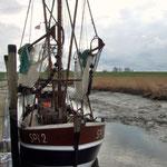Kutterhafen bei Niedrigwasser