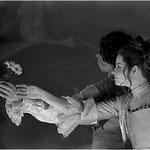 Marelize Gerber (Clori) & Gernot Heinrich (Tirsi) in Clori, Tirsi e Fileno - GF Händel Foto: Carlo Pescatori ©