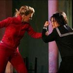 Wiebke Huhs (Agrippina) & Marelize Gerber (Nerone) in Agrippina - GF Händel Foto: Christian Husar ©