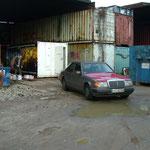Container die 2. am 12.12.2009 in Moorburg bei Heiko Miersen!